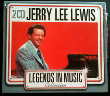LEGENDS IN MUSIC COLLECTION - JERRY LEE LEWIS - 2 CD NEUF -