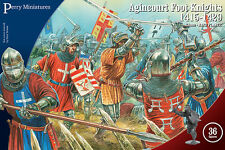 **BNIB** PERRY MINIATURES AGINCOURT FOOT KNIGHTS 1415 - 1429