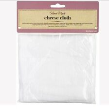 KitchenCraft 100% COTTON CHEESE CLOTH Lint Free for preserving etc..