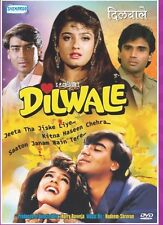 Dilwale - Ajay Devgn Raveena Tandon Sunil - Hindi Movie DVD Subtitle Region Free