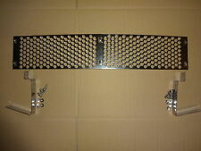 MG MIDGET 1500cc STAINLESS FRONT LOWER GRILLE SET WITH FITTINGS