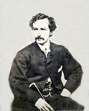 8x10 Photo of Seated John Wilkes Booth-The man who shot President Lincoln
