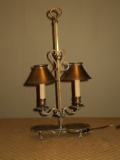 Vintage Fredrick Cooper Chicgo Lamp 100% Solid Brass Made in Italy
