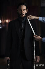 JOHN WICK CHAPTER 2 MOVIE POSTER 2 Sided ORIGINAL Advance 27x40 KEANU REEVES