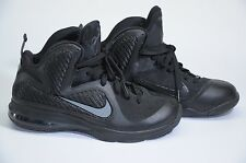 New Nike LeBron 9 IX Blackout Anthracite Size 8 469764-001 All Star BHM Cavs MVP