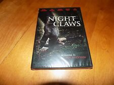 NIGHT CLAWS Bigfoot Sasquatch Terror Wilderness Horror Movie Film DVD SEALED NEW