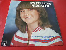 LP vinyl Album Nathalie Simard Self Titled ! Disques No.1 Records