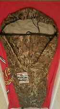The Latest British Army MTP (Multi Terrain Pattern) Gore-Tex Bivi Bag.Free Torch