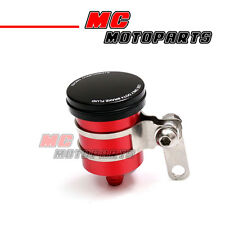 Red CNC Rear Brake Fluid Reservoir Tank For Kawasaki Ninja ZX-10R 2006 2007