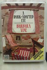 A Dark-Adapted Eye by Barbara Vine: Unabridged Cassette Audiobook (T4)