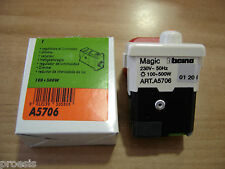 BTICINO A5706 Magic Matix TT originale regolatore luminosità dimmer 100 500W