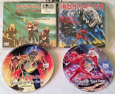 IRON MAIDEN - The Number Of The Beast 2CD LIMITED EDITION 1995 CASTLE 104-2