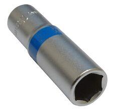 Douille de vissage 3/8  6 pans 13mm longue profonde qualité professionnelle CrV
