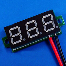 "Blau DC 0.28"" 3.5-30V 12V LED Mini Digital Voltmeter Spannungsanzeige Panel"