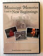 Mississippi Memories...New Beginnings ~ New DVD ~ NCCU Documentary Movie Video