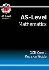 AS-Level Maths OCR Core 1 Revision Guide by CGP Books (Paperback, 2004)