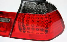 LED RÜCKLEUCHTEN SET BMW E46 3er LIMOUSINE 98-01 M3-LOOK ROT SMOKE + LED BLINKER