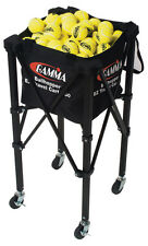 Gamma EZ Travel Cart 150 Capacity Tennis Ball Basket Hopper