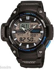 Casio SGW450H-1A Watch Altimeter Thermometer World Time 100M 5 Alarms New Model