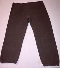 XL Gray Abercrombie And Fitch Sweat Pants
