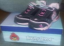 Angry Birds Girls Sneakers -Sizes 10,11,12,13, Pink & Black SHOES-BNIB