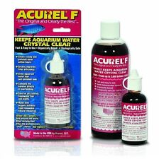 Acurel F 25ml Aquarium Water Crystal Clear Water Clarifier Additive Supplement