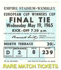reproduction 1965 WEST HAM UNITED 1860 MUNICH cup winners cup final ticket [RMT]