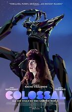 Colossal  movie poster  : 11 x 17 inches : Anne Hathaway, Jason Sudeikis