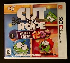 Nintendo 3DS Cut the Rope Triple Treat New
