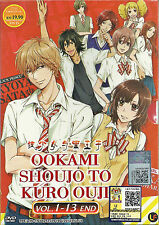 Wolf Girl and Black Prince Ookami Shoujo Complete 12 Episode DVD English Subs