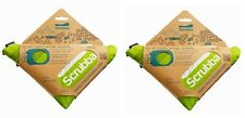 2 Pack SCRUBBA Portable Laundry Washing Machine Wash Bag Camp Travel Kit Clean
