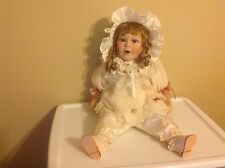 """""""BRENDA"""" PORCELAIN DOLL- NEIGHBORHOOD KIDS COLLECTION WITH TAG BY SHOW STOPPERS"""