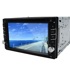 "CAR STEREO 2DIN HD 6.2"" CAR DVD PLAYER RADIO IPOD BLUETOOTH TOUCH SCREEN"