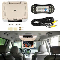 15.6'' Car Flip Down Monitor DVD Player ROOF Mounted view TFT LCD Monitor MP5