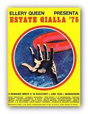 ESTATE GIALLA 1975 Ellery Queen Presenta - Giallo Mondadori