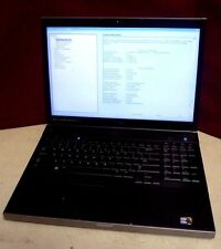 Dell Precision M6500 Laptop | i7 X920 | 4GB | No HD | Win 7 Pro COA | T#6858