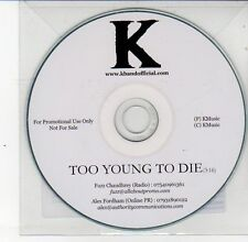 (DS616) K Band, Too Young to Die - DJ CD