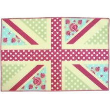 Country Club Designer Tappetino Vintage Union Jack Tappeto Nuovo Regalo