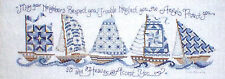 Ursula Michael Designs SAILBOAT NEIGHBORS Counted Cross Stitch Pattern QUILTS