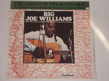 BIG JOE WILLIAMS -The Legacy Of The Blues Vol. 6- LP