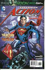 Action Comics Superman New 52 #13 Dec 2012 DC Comics Never Read