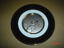 The Art Of Chokin Japanese Collectors Plate Boxed But No Stand
