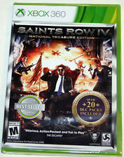 Saints Row IV 4 National Treasure Edition - Microsoft XBOX 360 - NEW & SEALED