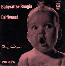 """7"""" Buzz Clifford – Babysitter-Boogie / Driftwood // Germany 1961"""