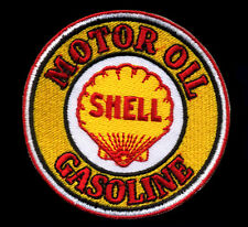 Shell Patch Badge Motor Oil gas Station Gasoline retro hot rod drag race
