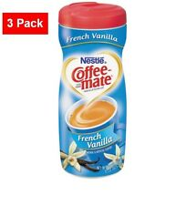 3 Pack Nestlé Coffee-mate French Vanilla Powdered Creamer 15oz Each