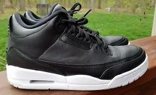 Nike Air Jordan 3 Retro Size 8.5 Cyber Monday Black White 136064 020