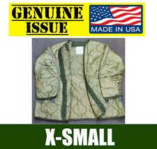 X-SMALL U.S. MILITARY FISHTAIL PARKA JACKET ARMY LINER M65 EXTREME COLD GENUINE