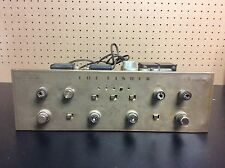 Vintage The Fisher X-202 Stereo Vacuum Valve Tube Amp Amplifier For Parts Repair
