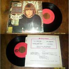 REGINE - Il A Vingt Ans French EP Pop Sixties 1967 W/ Languette